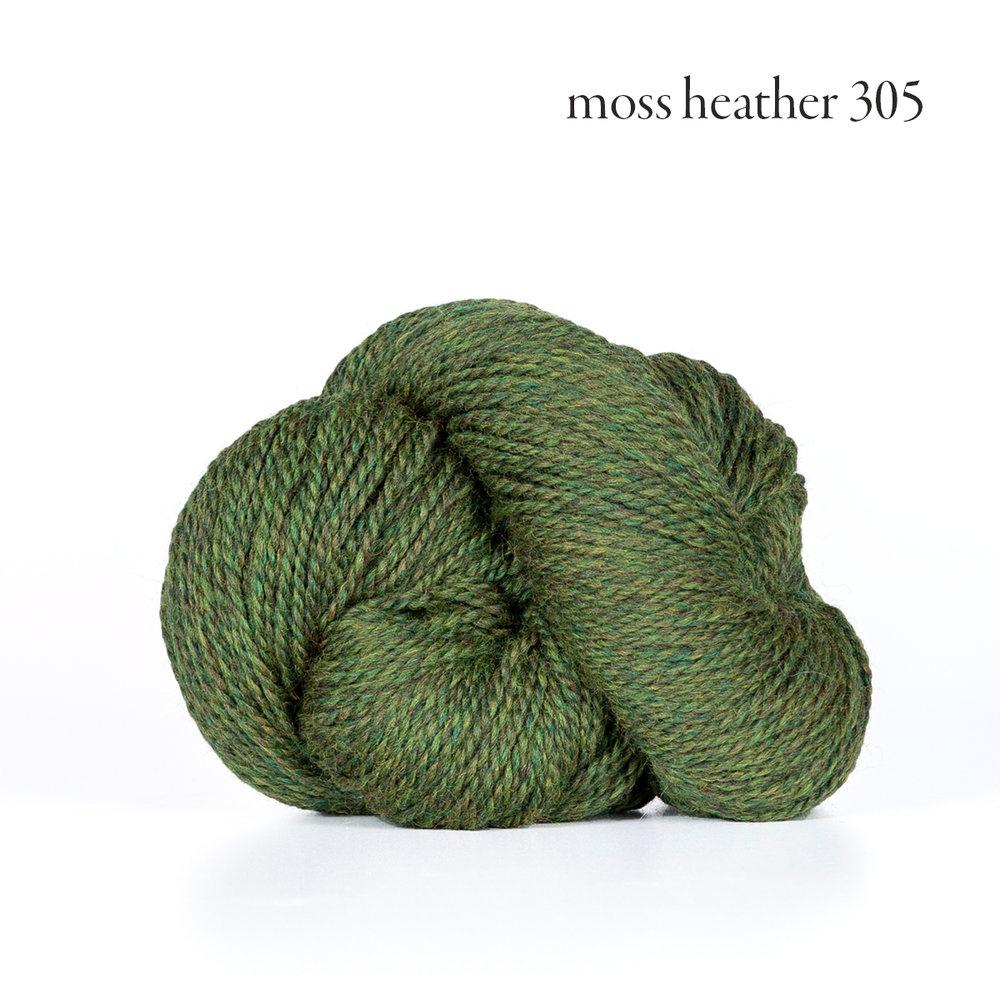 Kelbourne Woolens Scout, Moss Heather #305