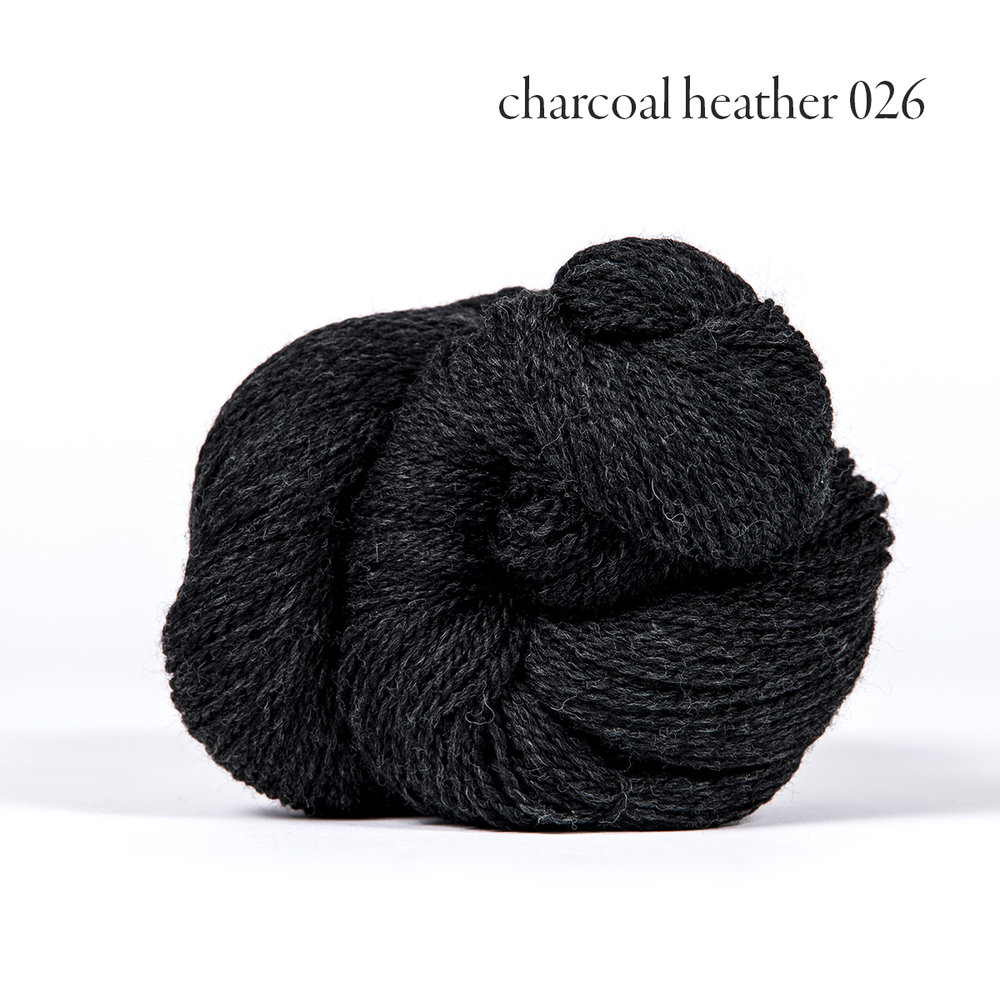 Kelbourne Woolens Scout, Charcoal Heather #026