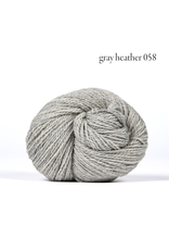 Kelbourne Woolens Scout, Gray Heather #058