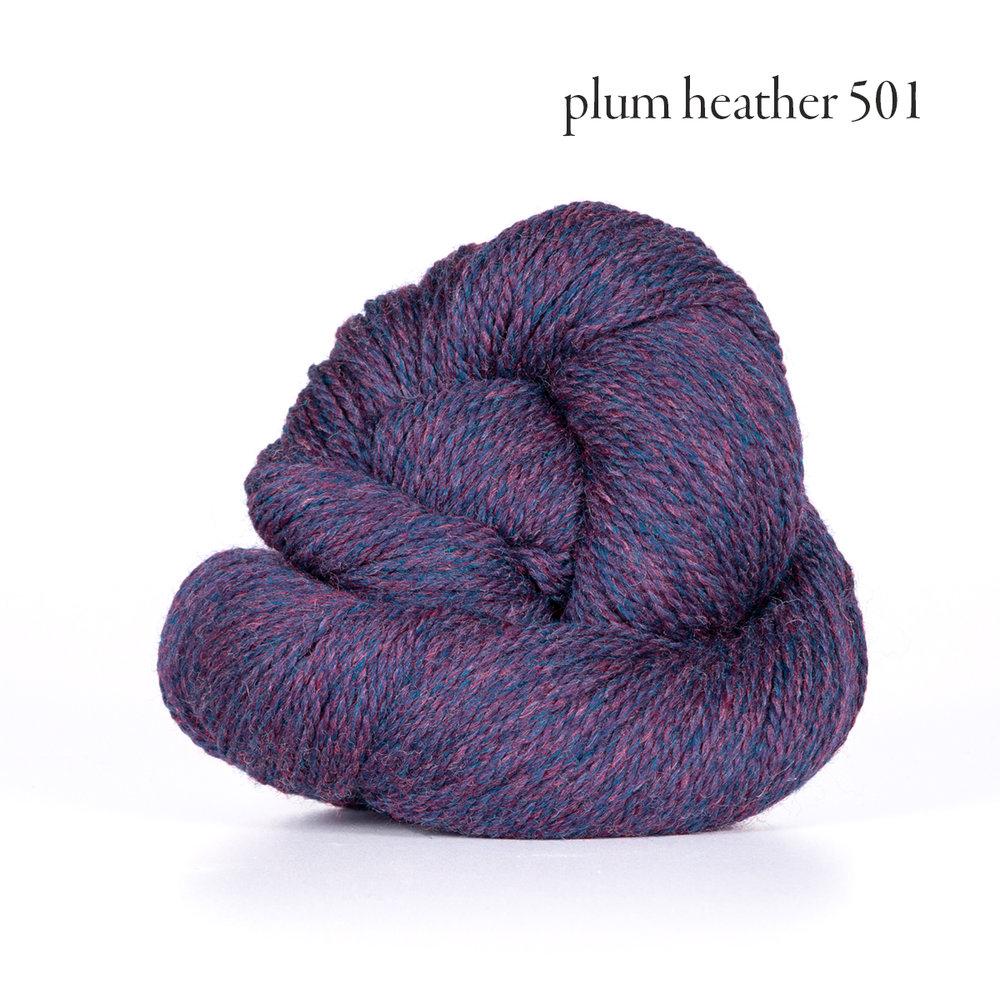 Kelbourne Woolens Scout, Plum Heather #501