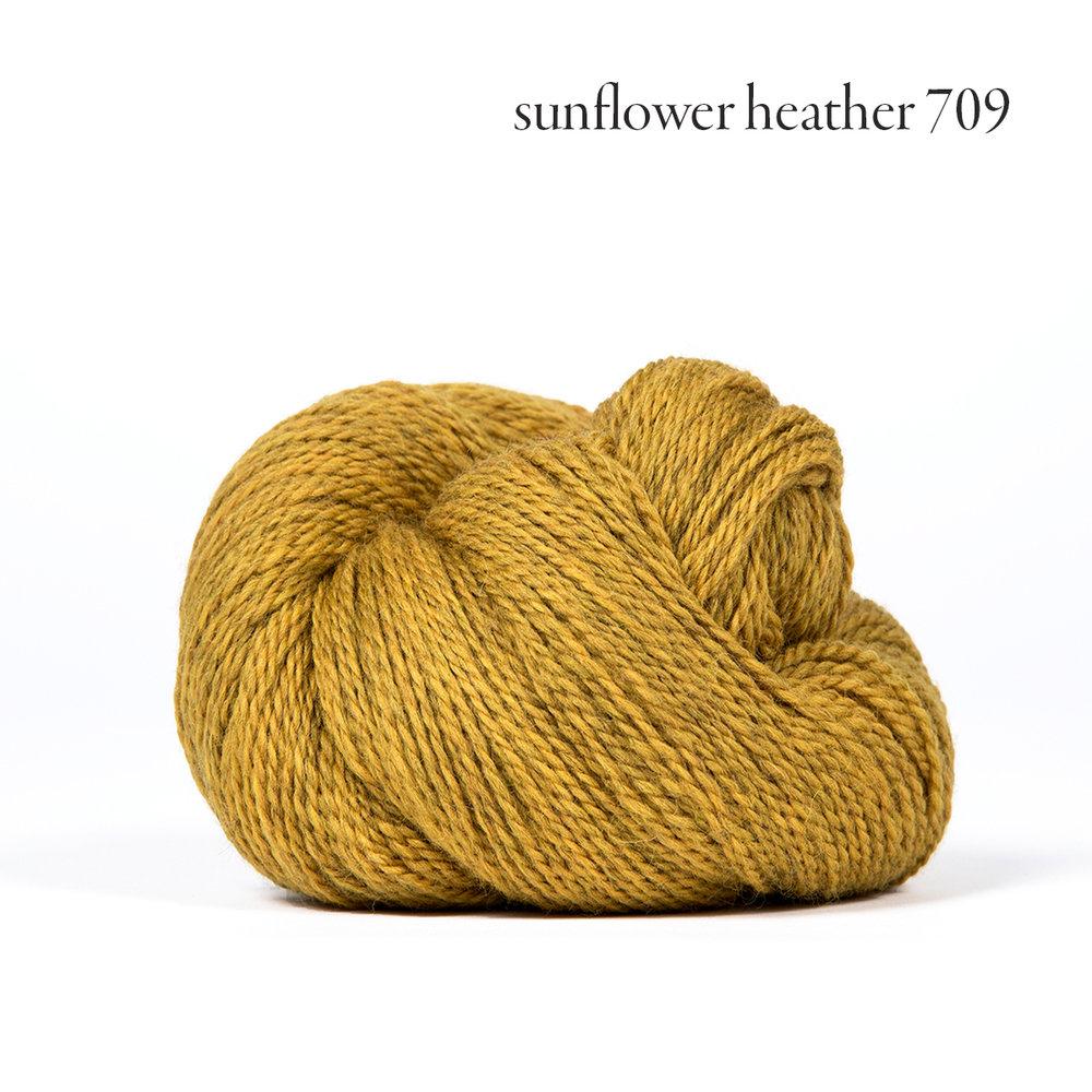 Kelbourne Woolens Scout, Sunflower Heather #709