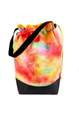 Slipped Stitch Studios Medium Project Bag, Rainbow Haze