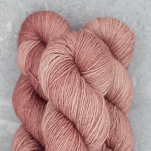 Madelinetosh Tosh Merino Light, Pink Mist Smoke Tree