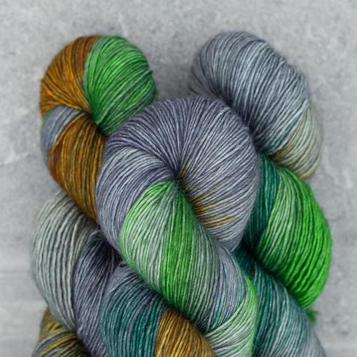 Madelinetosh Twist Light, Plaid Blanket