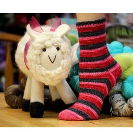 For Yarn's Sake, LLC Toe-Up Socks - Saturdays April 25 & May 9, 2020. Class time: 10am-12:30pm. Anne Lindquist