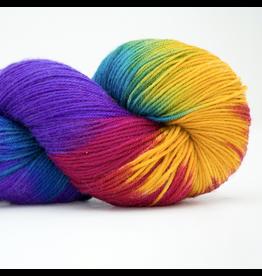 Abstract Fiber Good Ole Sock, Chocolate Rainbow