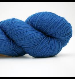 Abstract Fiber Silky Sock, Azure