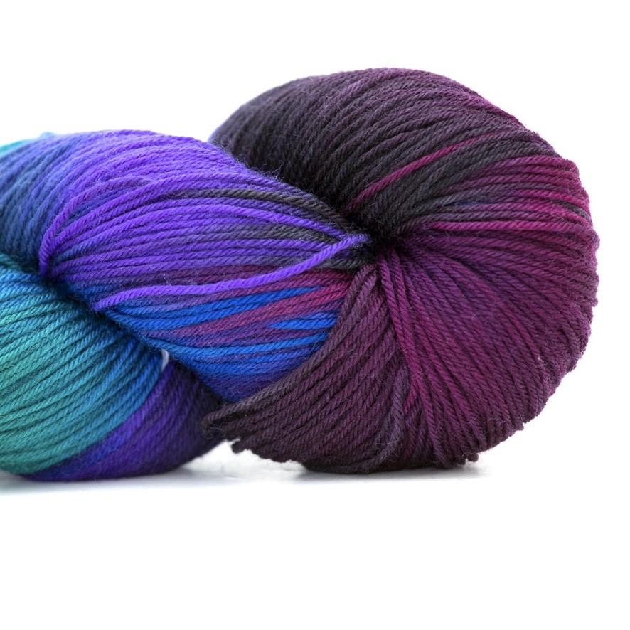 Abstract Fiber Silky Sock, Constellation