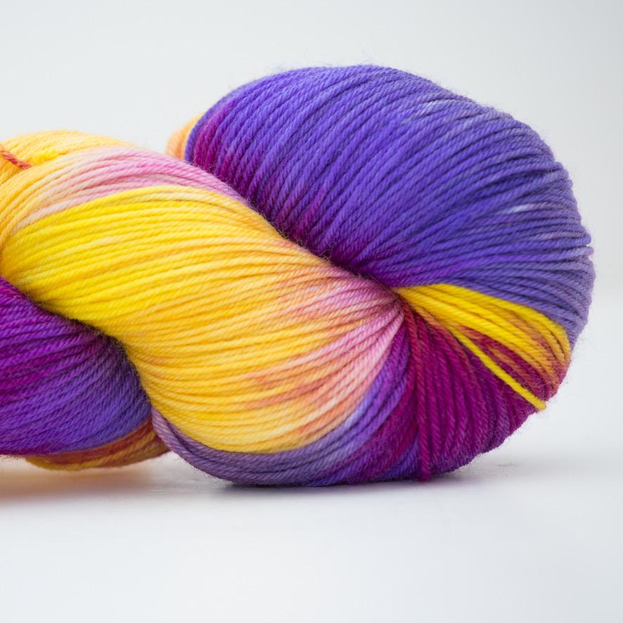 Abstract Fiber Silky Sock, Harry & Daisy