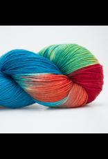 Abstract Fiber Silky Sock, Koi Pond