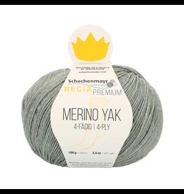 Schachenmayr Regia Premium Merino Yak, Mint Meliert (Cool Mint) #7513