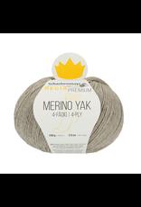Schachenmayr Regia Premium Merino Yak, Beige Meliert (Stone Grey) #7510