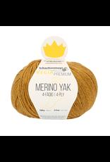 Schachenmayr Regia Premium Merino Yak, Gold Meliert (Yellow Gold) #7504
