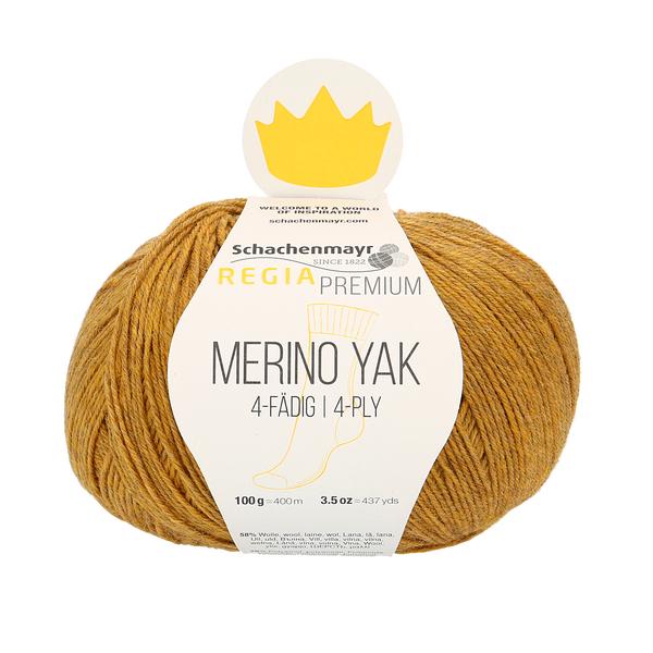 Schachenmayr Regia Premium Merino Yak, Gold Meliert (Yellow Gold)