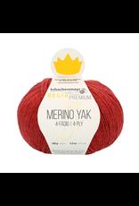 Schachenmayr Regia Premium Merino Yak, Himbeer Meliert (Cherry Red)