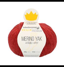 Schachenmayr Regia Premium Merino Yak, Himbeer Meliert (Cherry Red) #7507