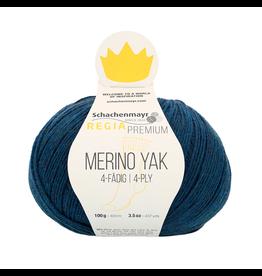 Schachenmayr Regia Premium Merino Yak, Nachtblau Meliert (Royal Blue) #7515