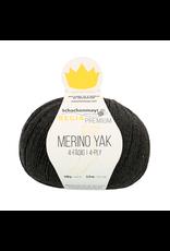 Schachenmayr Regia Premium Merino Yak, Anthrazit Meliert (Charcoal) #7512