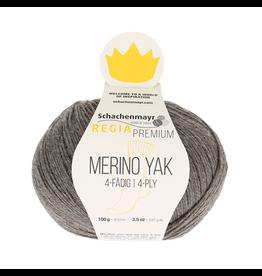 Schachenmayr Regia Premium Merino Yak, Kiesel Meliert (Neutral Smoke) #7511