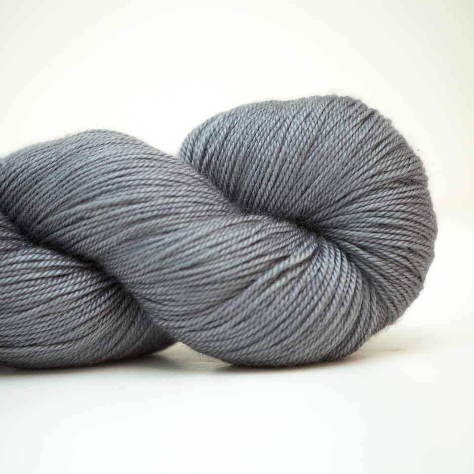 Abstract Fiber Good Ole Sock, Silver