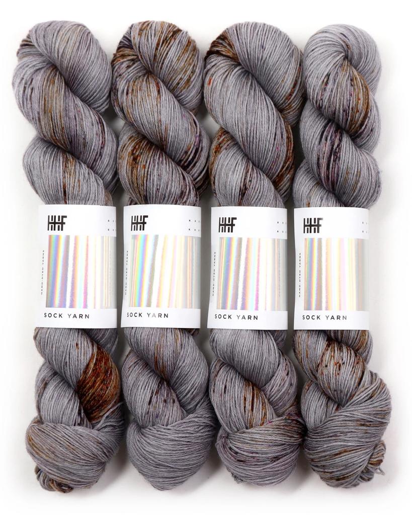 Hedgehog Fibres Hand Dyed Yarns Sock Yarn, Construct