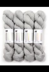 Hedgehog Fibres Hand Dyed Yarns Sock Yarn, Crystal