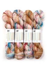 Hedgehog Fibres Hand Dyed Yarns Sock Yarn, Deja Vu