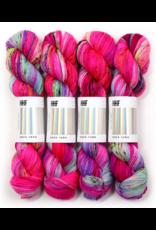 Hedgehog Fibres Hand Dyed Yarns Sock Yarn, Gossip