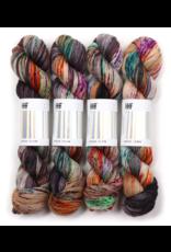 Hedgehog Fibres Hand Dyed Yarns Sock Yarn, Hawk