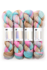 Hedgehog Fibres Hand Dyed Yarns Sock Yarn, Opalite