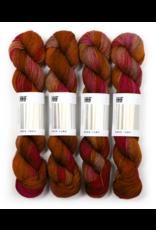 Hedgehog Fibres Hand Dyed Yarns Sock Yarn, Pheasant