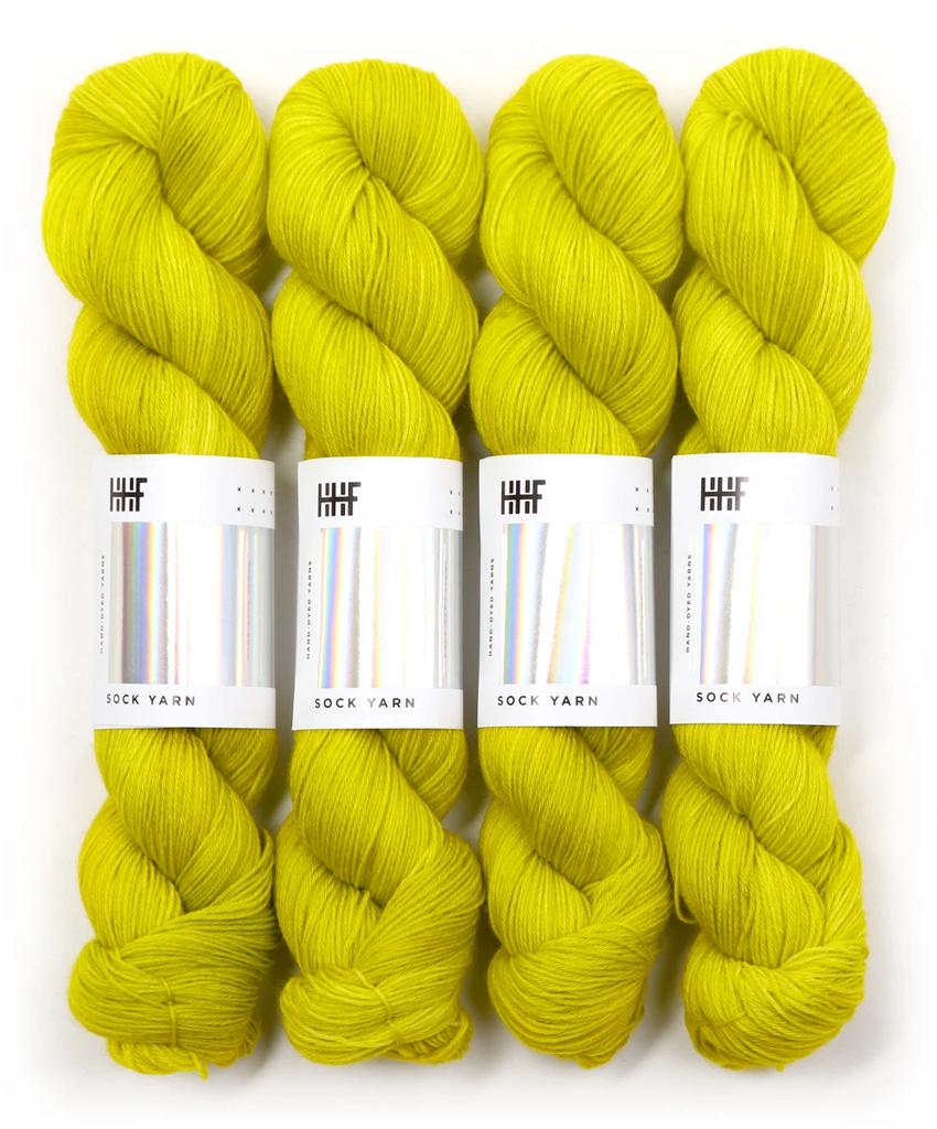 Hedgehog Fibres Hand Dyed Yarns Sock Yarn, UFO