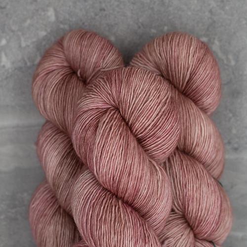 Madelinetosh Tosh DK, Copper Pink Solid