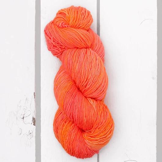 Madelinetosh Pashmina, Neon Peach