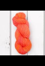 Madelinetosh Prairie, Neon Peach