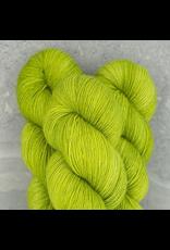 Madelinetosh Tosh Merino Light - Silver Glitter, Grasshopper
