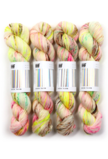 Hedgehog Fibres Hand Dyed Yarns Sock Minis, Crybaby