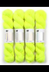 Hedgehog Fibres Hand Dyed Yarns Sock Minis, Highlighter
