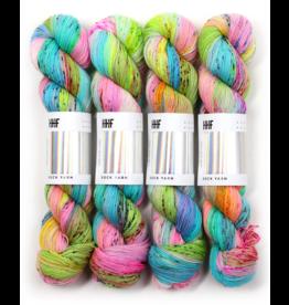 Hedgehog Fibres Hand Dyed Yarns Sock Minis, Piggy Bank