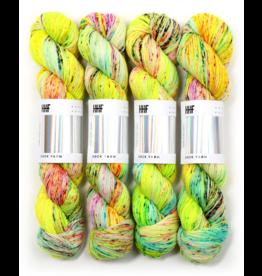 Hedgehog Fibres Hand Dyed Yarns Sock Minis, Wildcard