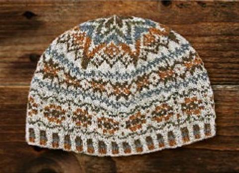Jamiesons of Shetland Shetland Wool Week 2020, Katie's Kep Kit, Colourway #3