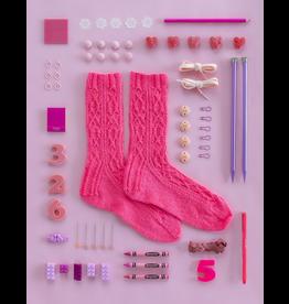 Kelbourne Woolens Year of Gifts, April Kit - Sweet Pea Socks