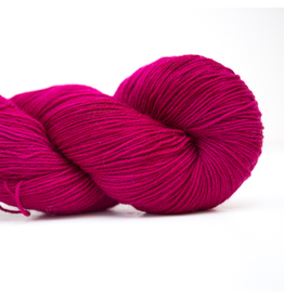Abstract Fiber Silky Sock, Raspberry