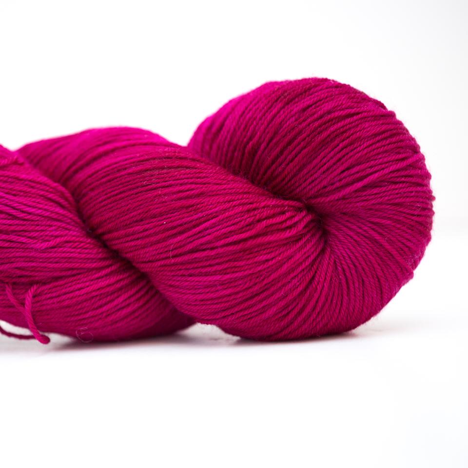 Abstract Fiber Silky Sock, Raspberry