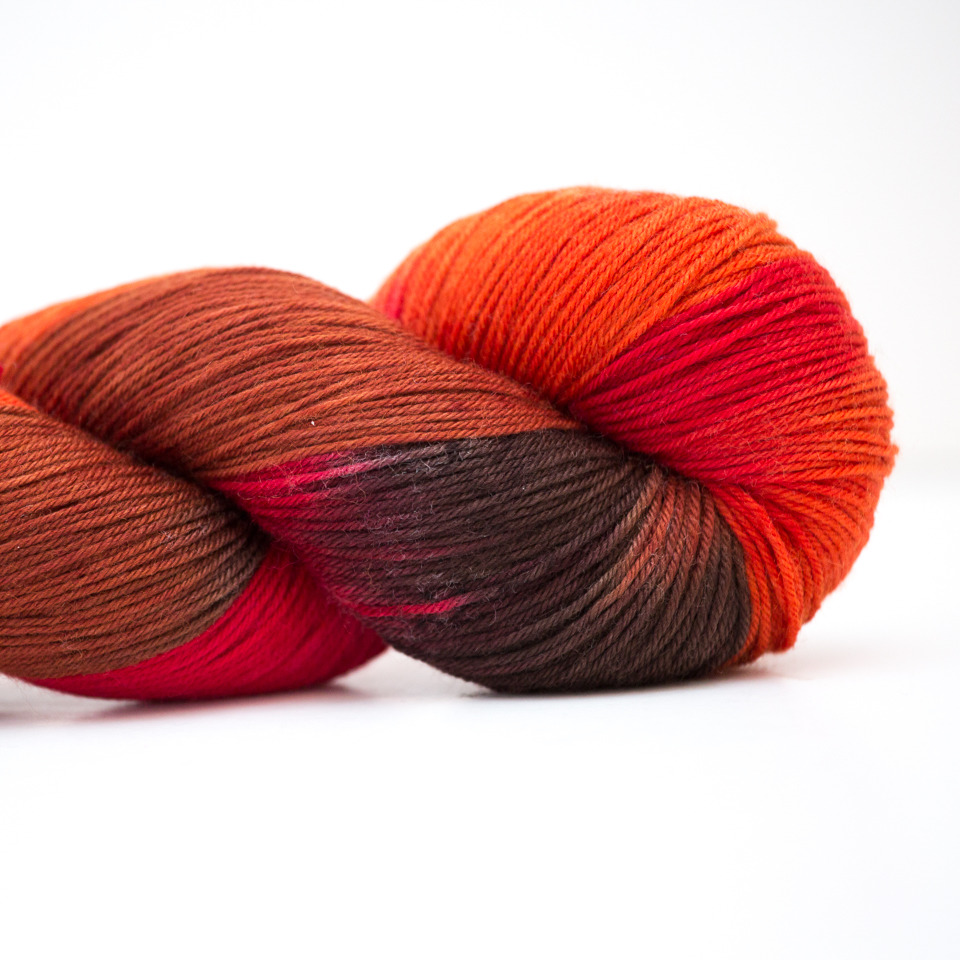 Abstract Fiber Silky Sock, Smith Rock