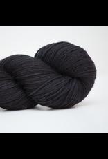 Abstract Fiber Silky Sock, Black