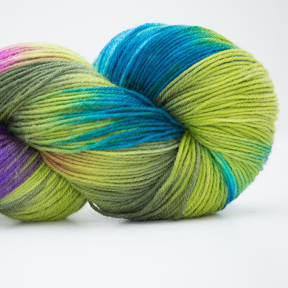 Abstract Fiber Silky Sock, Laurelhurst