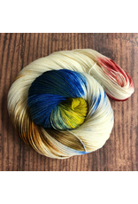 Knitted Wit HerStory Sock Club, DK: June 2020, Up Up and Away