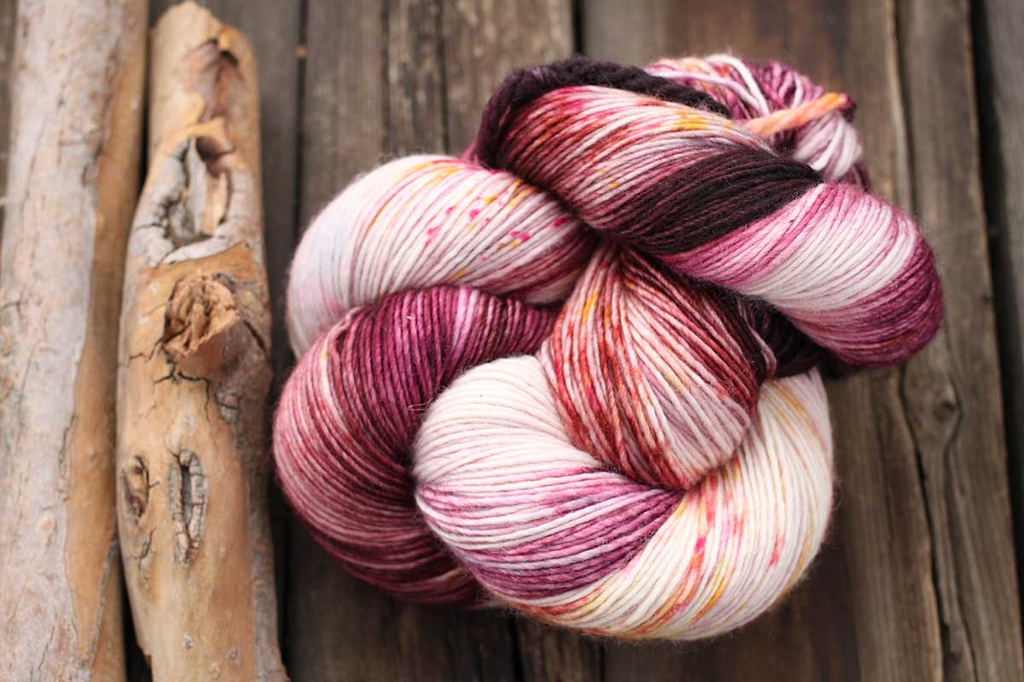 Dream in Color Smooshy with Cashmere, Eaten the Plums