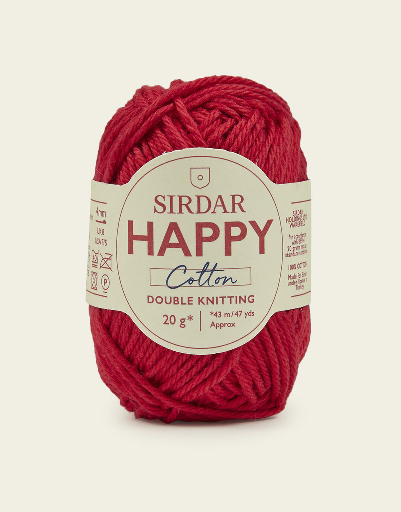 Sirdar Happy Cotton, Cherryade 754